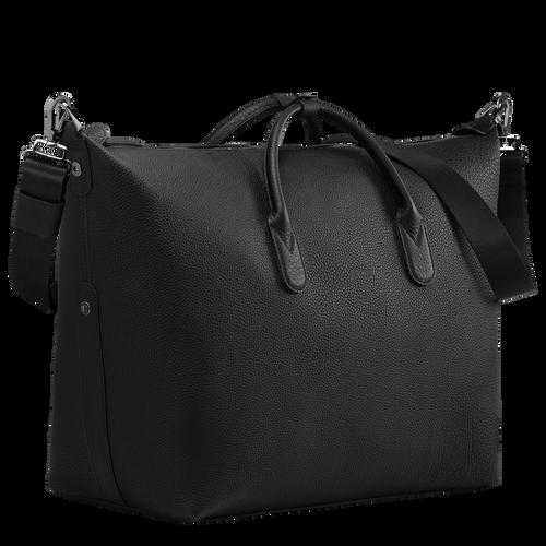 Reisetasche, Schwarz/Ebenholz - Ansicht 2 von 3 -