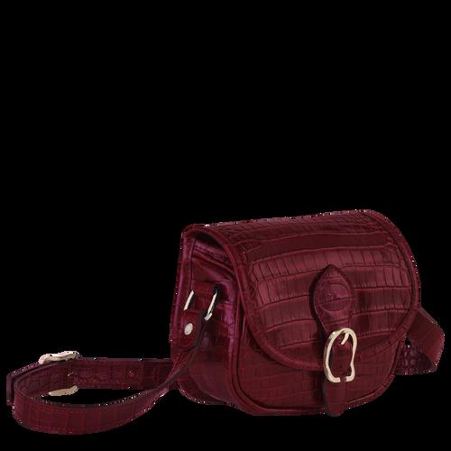 Crossbody bag XS, Burgundy - View 2 of  3 -