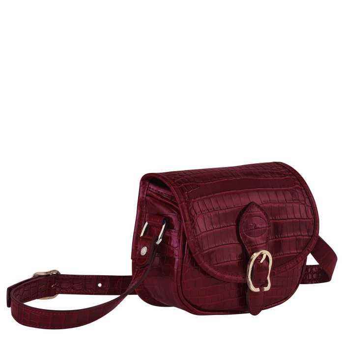 Crossbody bag XS, Burgundy - View 2 of  3 - zoom in