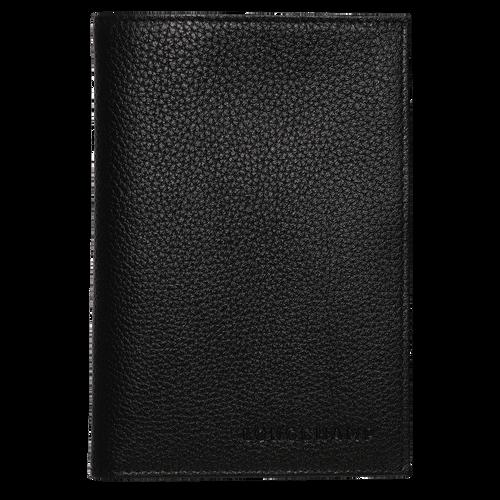 Funda para pasaportes, Negro - Vista 1 de 2 -