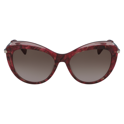 Sunglasses, D44 Marble Brown Red, hi-res
