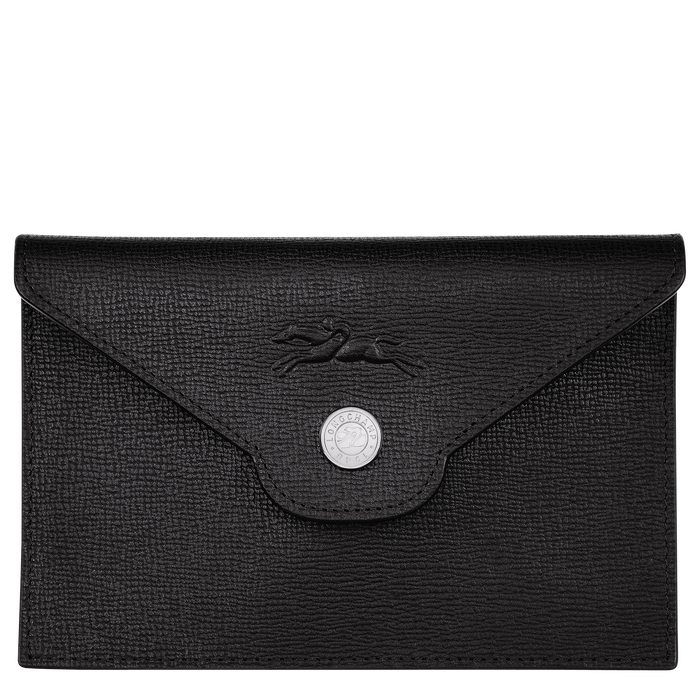 Card holder, Black/Ebony - View 1 of  2 - zoom in