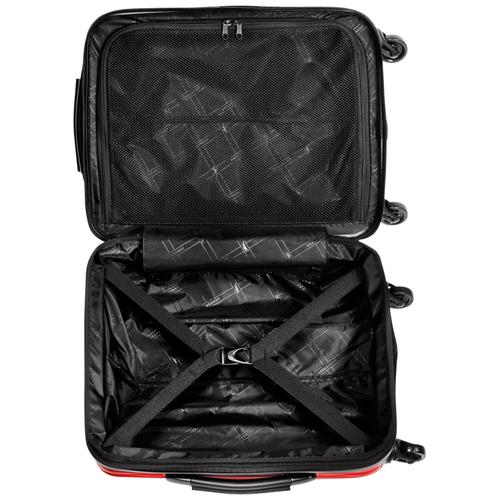 View 3 of Kleine Koffer mit Rollen, 545 Rot, hi-res