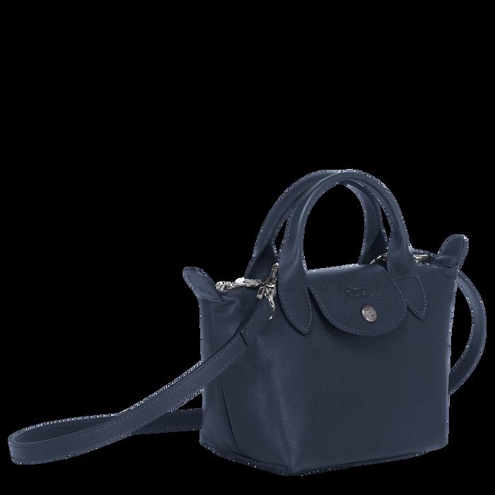 Top handle bag XS, Navy - View 2 of  5 - zoom in