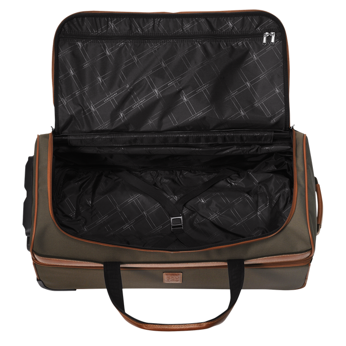 Wheeled duffle bag, Brown - View 3 of  3 - zoom in