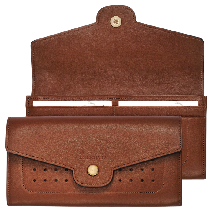 Long continental wallet, Cognac - View 1 of  3 - zoom in