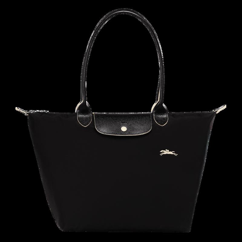 Shoulder bag L, Black/Ebony - View 1 of  5 - zoom in