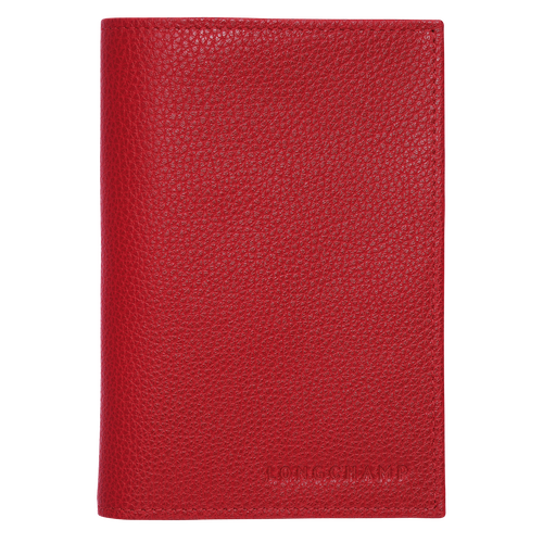 Passport covers, Vermilion, hi-res - View 1 of 2