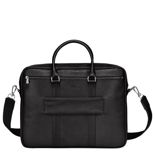 Briefcase M, Black - View 3 of 3 -