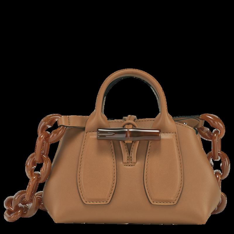 Roseau Top handle bag XS, Natural