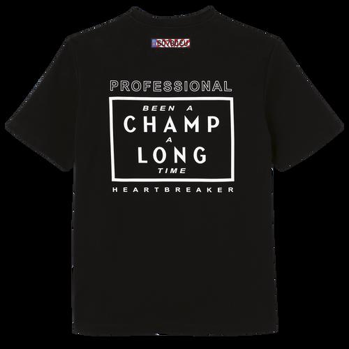 Longchamp x EU T-Shirt, Schwarz