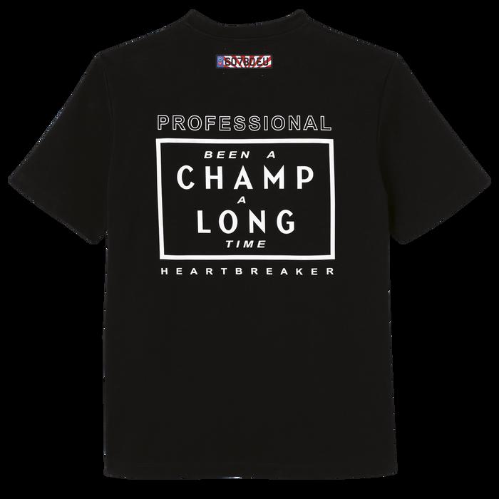 Longchamp x EU T-shirt, Black
