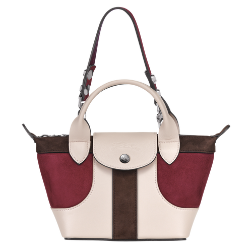 Top handle bag, Brandy, hi-res - View 1 of 3