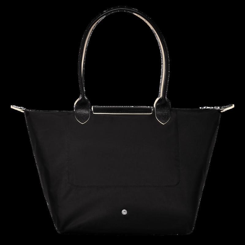 Shoulder bag L, Black/Ebony - View 3 of  5 - zoom in