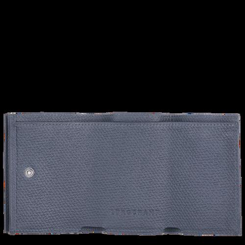 컴팩트 지갑, 파일럿 블루 - 2 이미지 보기 2 -
