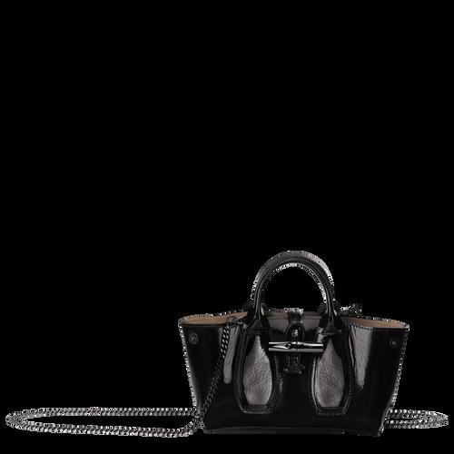 View 1 of Top handle bag S, Black, hi-res