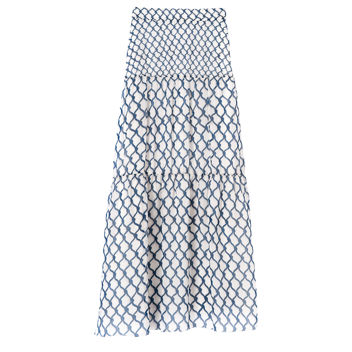 Spring-Summer 2021 Collection Long skirt, Blue