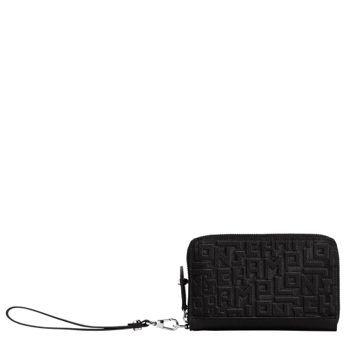 Compact wallet, Black - View 1 of  2 -