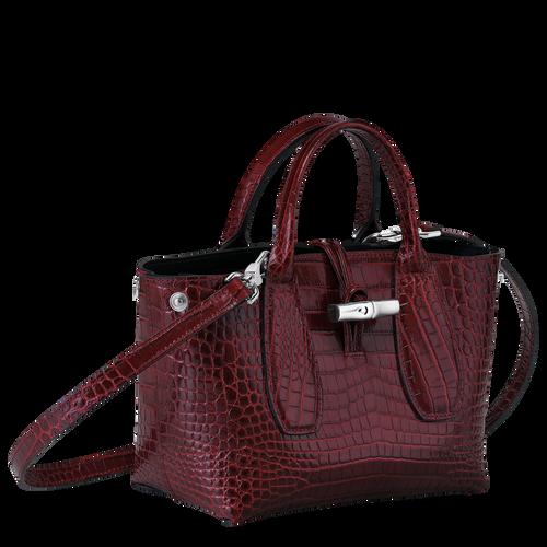 Top handle bag S, Burgundy - View 3 of 4 -