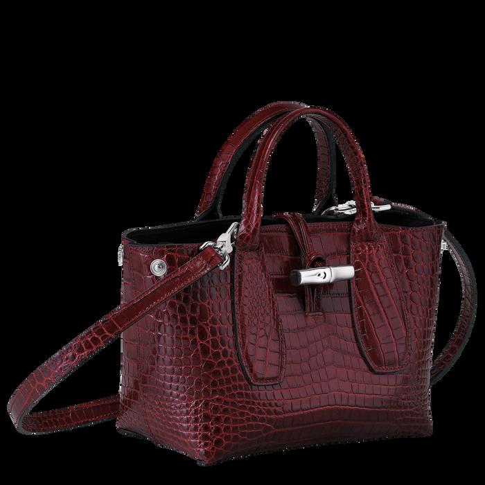 Top handle bag S, Burgundy - View 3 of 4 - zoom in