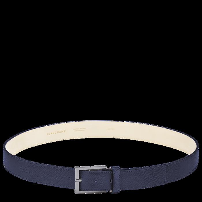 Le Pliage Men's belt, Navy