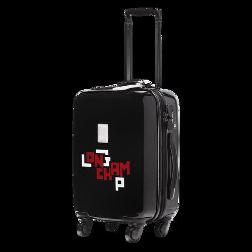 Kleine Koffer mit Rollen, 001 Schwarz, hi-res