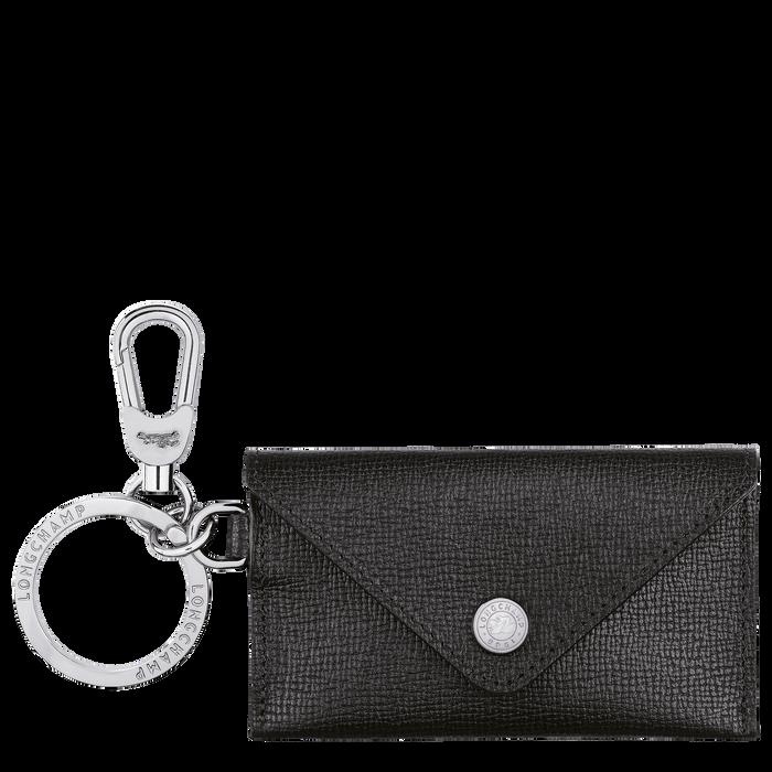 Le Pliage Néo Envelope key ring, Black