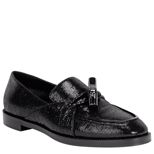 View 2 of Loafers, Black, hi-res