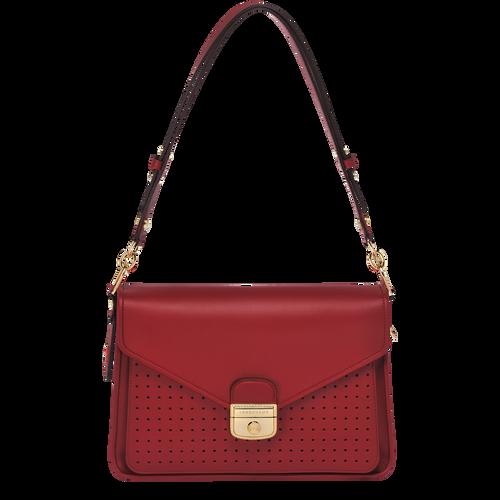 Hobo bag, 209 Garnet red, hi-res