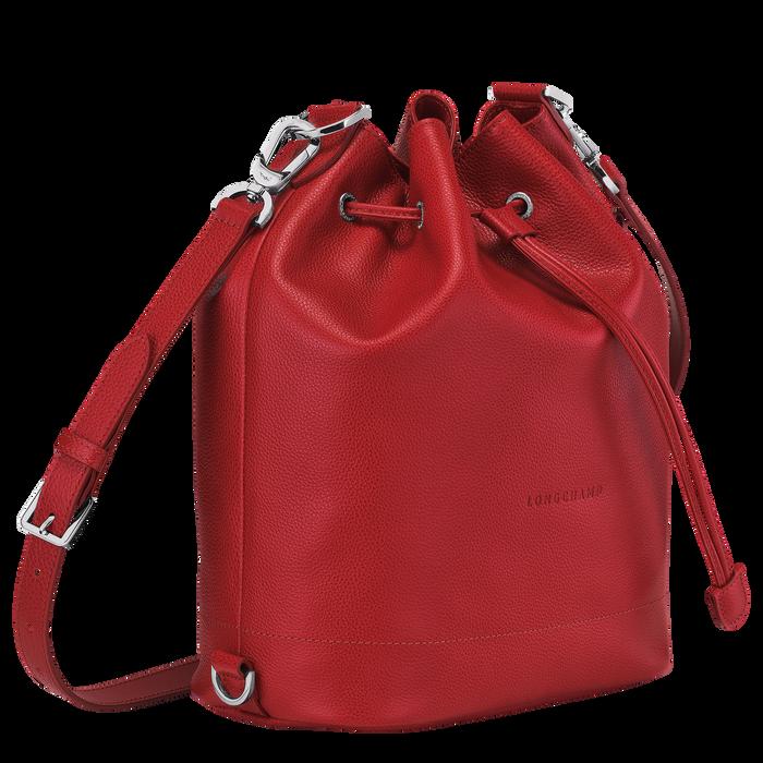 Bucket bag M Le Foulonné Red (10062021545) | Longchamp US