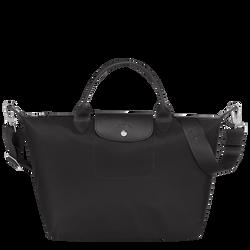 トップハンドルバッグ M, ブラック/黒檀