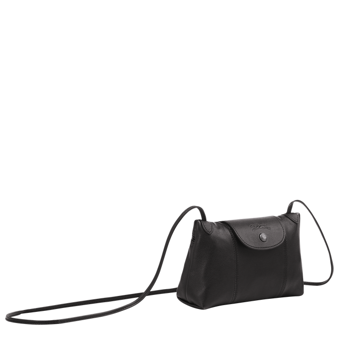 Crossbody bag Le Pliage Cuir Black (L1061757001) | Longchamp US