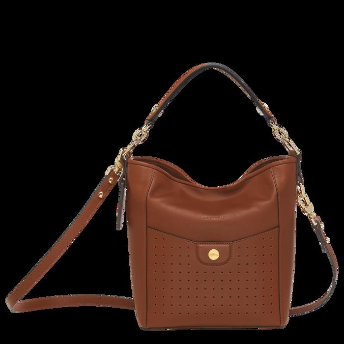 Bucket bag S, Cognac, hi-res - View 1 of 3