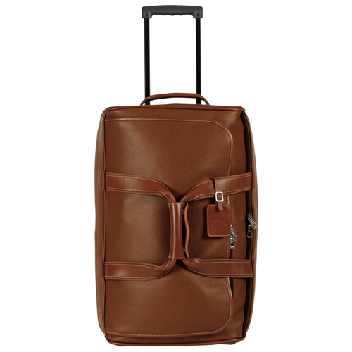 Wheeled travel bag, 504 Cognac, hi-res