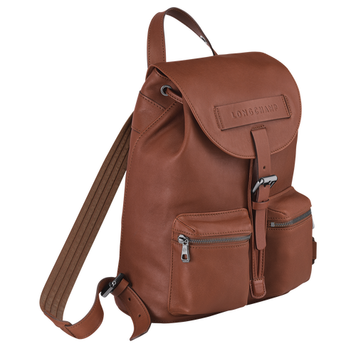 Backpack S, Cognac - View 2 of  3 -