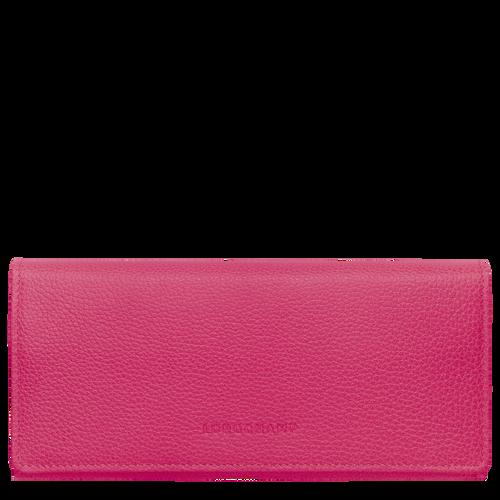 Long continental wallet Le Foulonné Pink/Silver (L3044021018) | Longchamp US