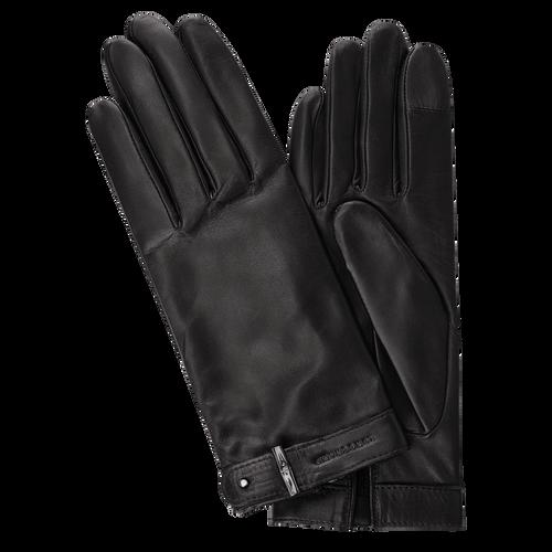 Damenhandschuhe, Schwarz/Ebenholz - Ansicht 1 von 1 -