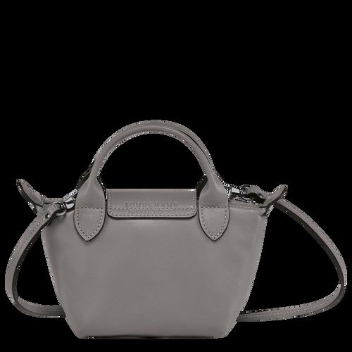 Le Pliage Cuir Crossbody bag, Turtledove