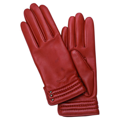 View 1 of Women's gloves, 608 Vermilion, hi-res