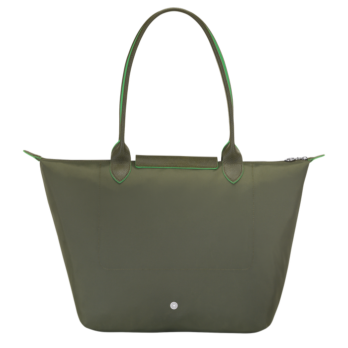 Shoulder bag L, Longchamp Green - View 3 of  5 - zoom in