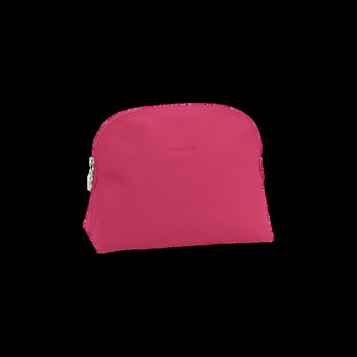 Kulturbeutel, Pink/Silber - Ansicht 1 von 3 - Zoom vergrößern
