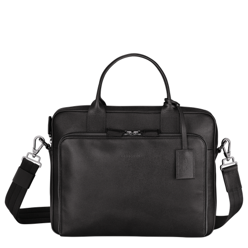 Briefcase S, Black - View 1 of  3 -