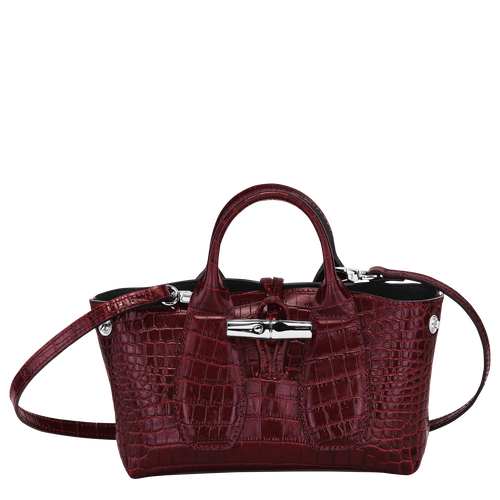 Top handle bag XS, Burgundy - View 2 of 4 -