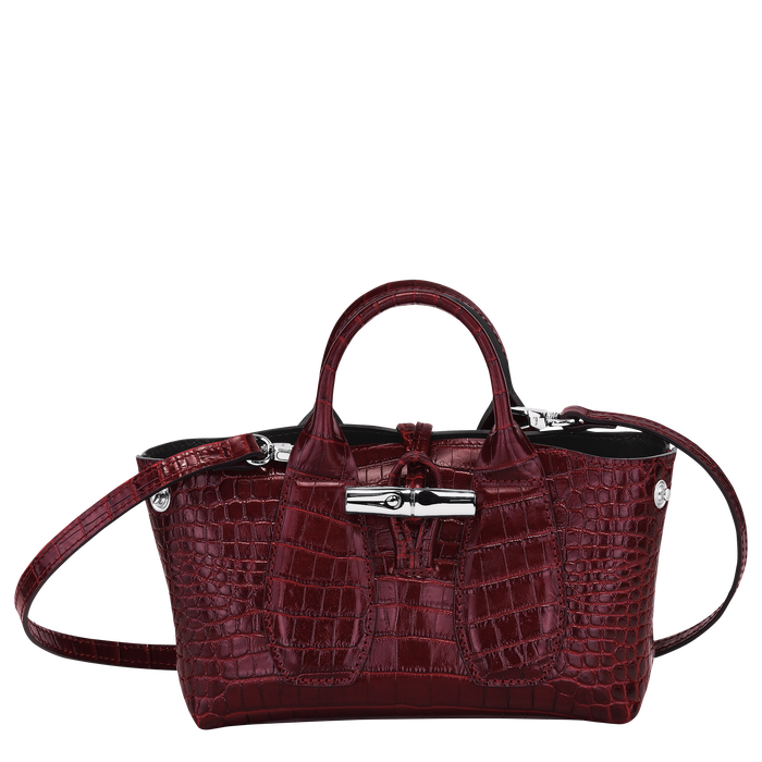 Top handle bag XS, Burgundy - View 2 of 4 - zoom in