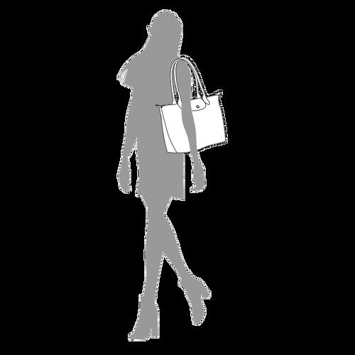 Sac porté épaule S, Noir/Ebène - Vue 5 de 5 -