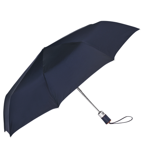 Retractable umbrella, Navy, hi-res - View 1 of 1