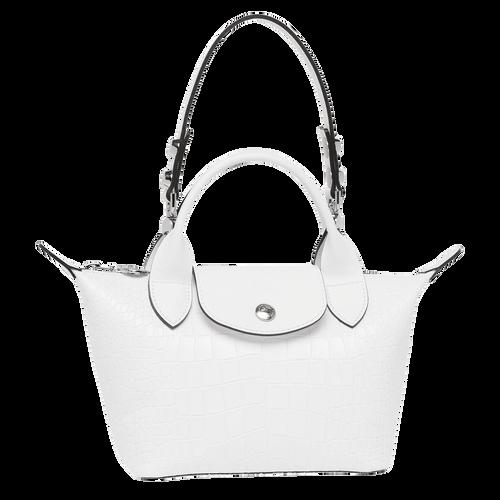 View 1 of Mini top-handle bag, White, hi-res