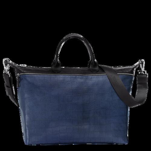 Handtas M, 731 Zwart/blauw, hi-res