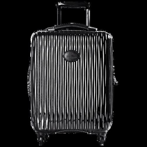 Koffer voor handbagage, Zwart/Ebbenhout - Weergave 1 van  3 -