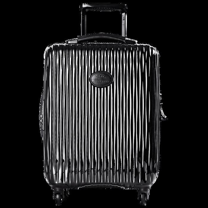 Koffer voor handbagage, Zwart/Ebbenhout - Weergave 1 van  3 - Meer inzoomen.